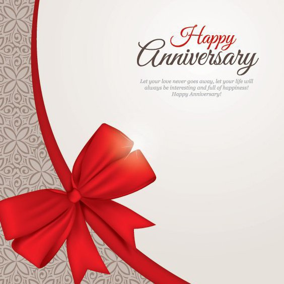 Happy Anniversary - Free vector #206661