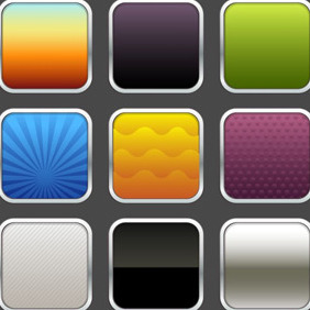 Application Icon Templates - Free vector #206711