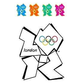 London 2012 Vector Logo - vector gratuit #206911