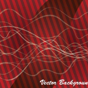 Design In Red Abstract Lined Background - Free vector #207281