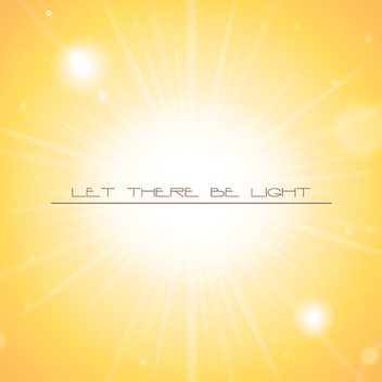 Let There Be Light - vector gratuit #207361