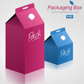 Product Packaging Box - Kostenloses vector #207721