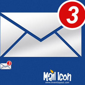 Mail Notification Icon - vector gratuit #207871