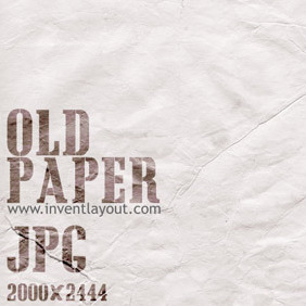 Old Paper Texture - Free vector #207931