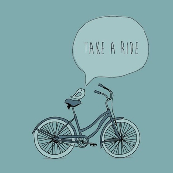 Take A Ride - vector #208001 gratis