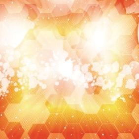 Blur Orange Abstract Art Free Design - Free vector #208051