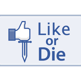 Like Or Die - vector gratuit #208121