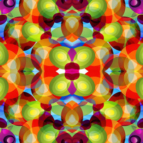 Kaleidoscope Background - Free vector #208261