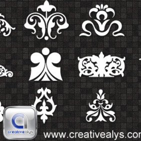 Decorative Ornaments For Logo, Web And Graphic Design - vector #208341 gratis