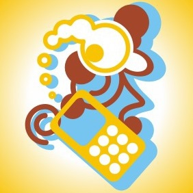 Phone Call - vector gratuit #208361