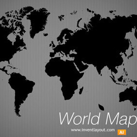 World Map Vector - Kostenloses vector #208621