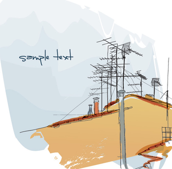 Antenna Roof - vector #208651 gratis