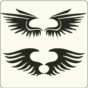 Wings 2 - vector gratuit #208831