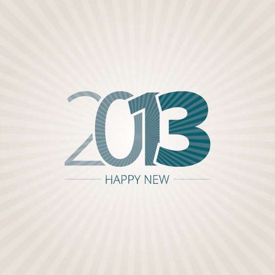 Happy New 2013 - Free vector #208841