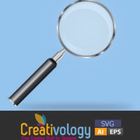 Free Vector Magnifying Glass - бесплатный vector #208901