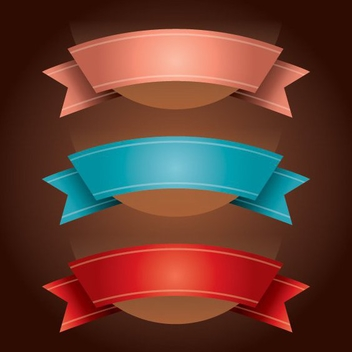 Ribbons - vector gratuit #208991