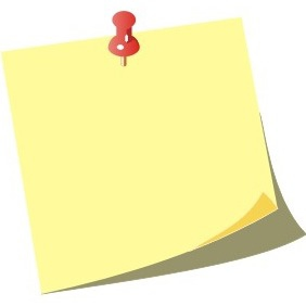 Note Paper Icon - Free vector #209681