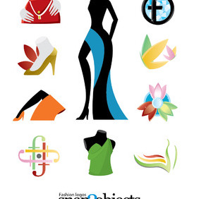 Free Vector Fashion Logo Templates - vector #210251 gratis