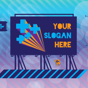 Billboards - Free vector #210291