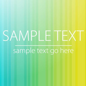 Gradient Stripes Vector - Kostenloses vector #210601