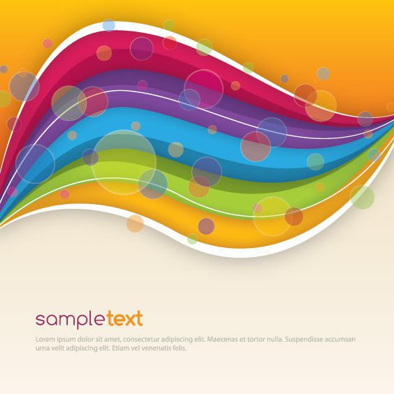 Colorful Design - Free vector #210621