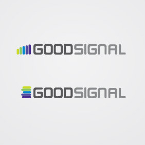 Good Signal Logo Vector - бесплатный vector #210641