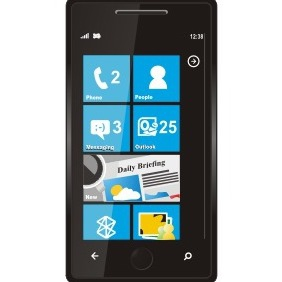 Windows Phone 7 - vector #210761 gratis