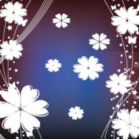 Dark Art Floral Free Vector Graphic - Kostenloses vector #211071