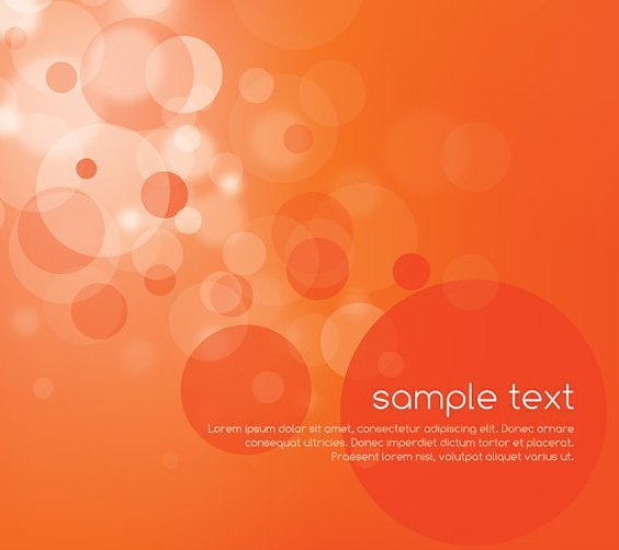 Magical Orange - Free vector #211121