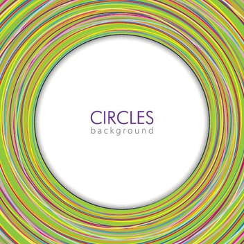Circles Background - vector gratuit #211391