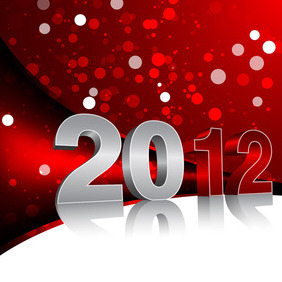 Vector New Year Design - Kostenloses vector #211711