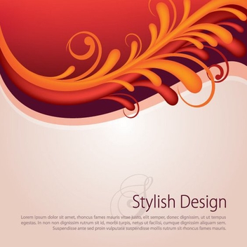 Stylish Design - Kostenloses vector #212081