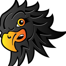 Eagle Head Vector Image - Kostenloses vector #212491