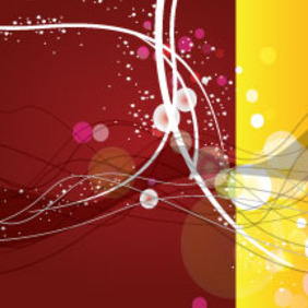 Dark Brown With Yellow Bond Abstract Vector - vector #212811 gratis