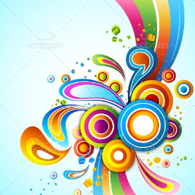 Color Abstract Background - vector gratuit #212891