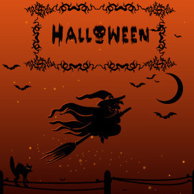 Halloween Witch - Kostenloses vector #212921