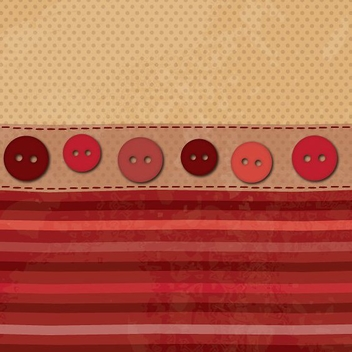 Fabric and Buttons - vector gratuit #213061