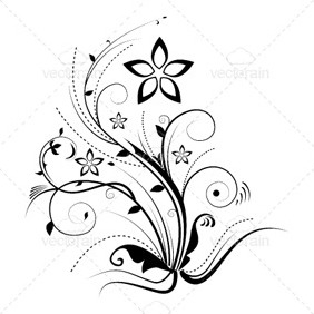 Illustrator Floral - Free vector #213151