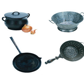 Vector Pots And Pans - vector #213201 gratis