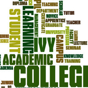 Education Word Cloud - vector #213431 gratis
