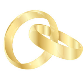 Free Wedding Rings Vector - vector gratuit #213491