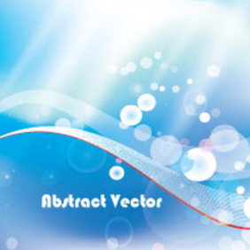 Blue Vector Free Abstract Graphic - бесплатный vector #213521