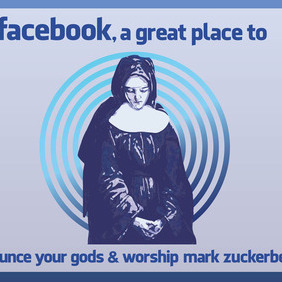 Worship Facebook - Free vector #213621
