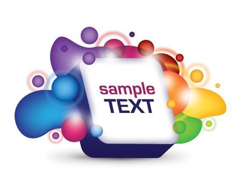 3D Text Box - vector gratuit #213661