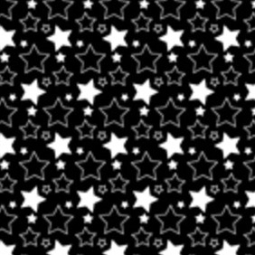 A Simple Star Seamless Vector Pattern - Free vector #213751