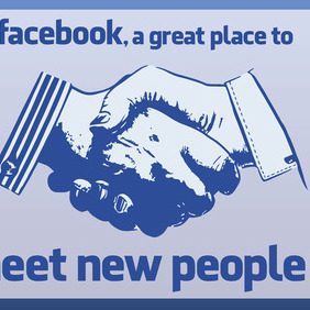 Facebook Meet People - vector gratuit #213811