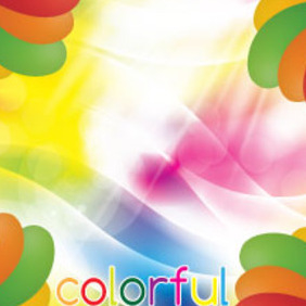 Colorful Text Free Vector Graphic - Free vector #214001