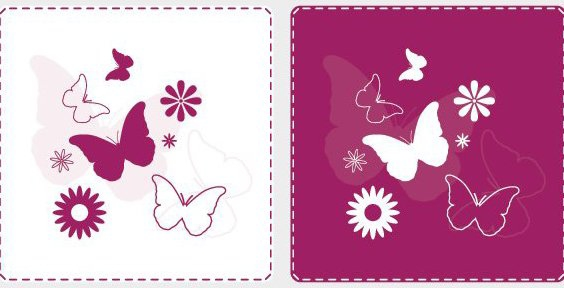 Joyful Butterflies - Free vector #214031
