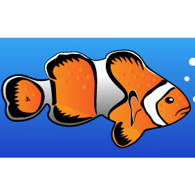 Clownfish Clip Art - Free vector #214121