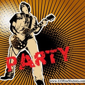 Party Vector Graphics Designs - Kostenloses vector #214401